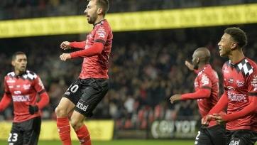 «Дижон», «Амьен» и «Генгам» шагнули в 1/8 финала Кубка французской Лиги, «Кан», «Тулуза» и «Анже» вылетели
