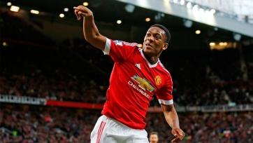Марсьяль - лучший игрок «Манчестер Юнайтед» в октябре