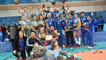 «Алтай» стал победителем Кубка Казахстана по волейболу