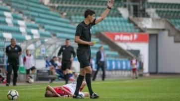 Казахстанские арбитры будут работать на матче Юношеской лиги УЕФА