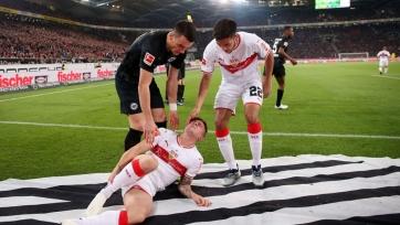 Два игрока «Штутгарта» получили травмы в матче с «Айнтрахтом»