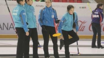 Женская сборная Казахстана по керлингу переиграла Гонконг