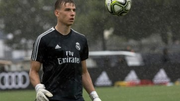 «Реал» вернет из аренды украинского голкипера Лунина