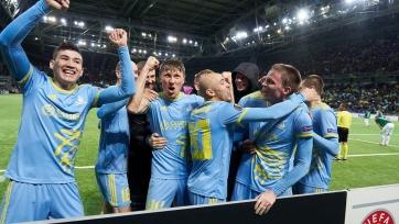 «Астана» практически гарантировала себе плей-офф Лиги Европы
