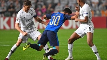«Айнтрахт» и «Лацио» уже обеспечили себе плей-офф Лиги Европы