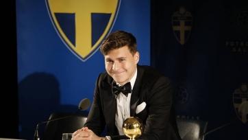 Линделеф признан футболистом года в Швеции, Ибрагимович тоже не остался без награды