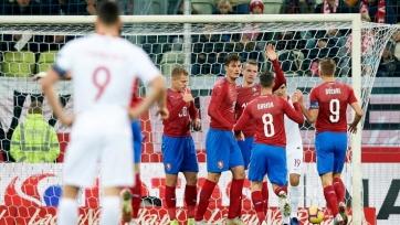 Польша под руководством Бженчека потерпела третье поражение кряду. Крыховяк провел весь матч