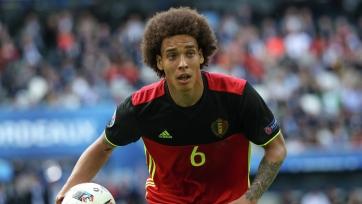 Витсель провел сотый матч за сборную Бельгии