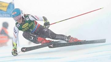 Шиффрин выиграла первый слалом горнолыжного сезона