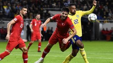 Турция – Швеция. Составы команд