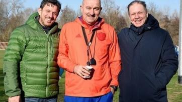 Черчесов провел встречу с экс-партнерами по дрезденскому «Динамо»