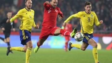 Швеция в гостях обыграла Турцию и отправила ее в дивизион С
