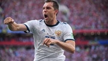 Дзюба может помочь сборной России в матче против Швеции