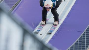 Россиянин Климов одержал первую победу в Кубке мира по прыжкам с трамплина