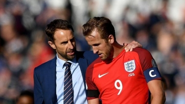 Саутгейт: «Кейн продолжает вести Англию вперед»