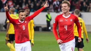 Сеферович оформил первый хет-трик за сборную Швейцарии и стал одним из четырех лучших бомбардиров Лиги наций