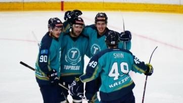«Торпедо» крупно обыграло китайцев в матче ВХЛ