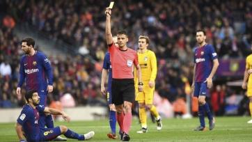 Назначен арбитр на матч «Атлетико» – «Барселона». После дерби с «Жироной» Месси отказался пожать ему руку