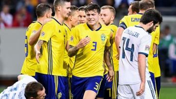 Швеция уверенно обыграла россиян и заняла первое место в группе Лиги наций