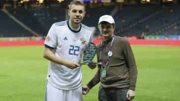 Дзюба – лучший игрок сборной России в Лиге наций УЕФА