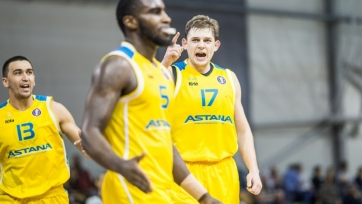 Баскетбольная «Астана» продолжила победное шествие в Национальной лиге