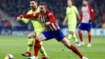 «Барселона» спаслась от поражения в матче с «Атлетико»