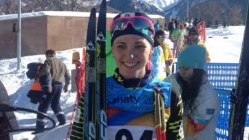 Шевченко заняла 44-е место на этапе Кубка мира по лыжным гонкам