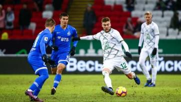 «Динамо» вырвало ничью у «Рубина» на «Казань Арене»