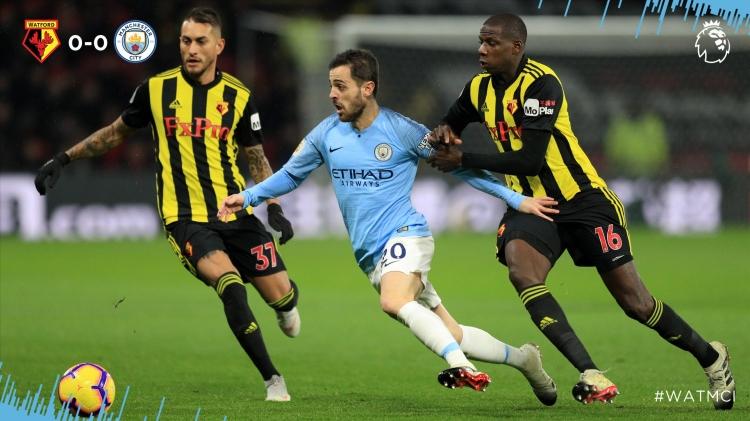 «Уотфорд» - «Манчестер Сити» - 1:2. Текстовая трансляция матча