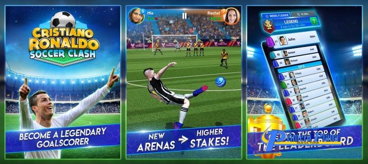Картинки по запросу Криштиану Роналду выпустил собственную игру для смартфонов
