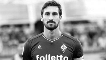 Игроки «Ювентуса» во Флоренции почтили память капитана «Фиорентины»