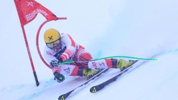 Макс Франц победил на этапе КМ по горным лыжам