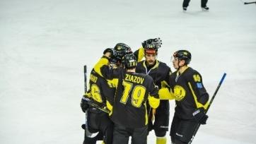 «Сарыарка» обыграла «Звезду» в матче ВХЛ