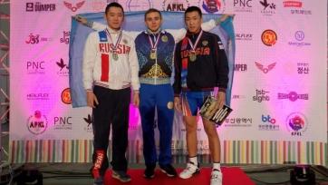 Казахстанец выиграл чемпионат Азии по гиревому спорту