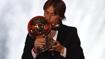 Модрич – обладатель «Золотого мяча»