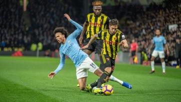 «Манчестер Сити» справился с «Уотфордом», одержав очередную победу