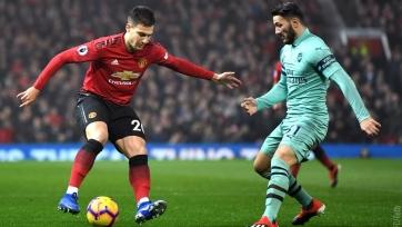 «Манчестер Юнайтед» - «Арсенал» - 2:2. Текстовая трансляция матча