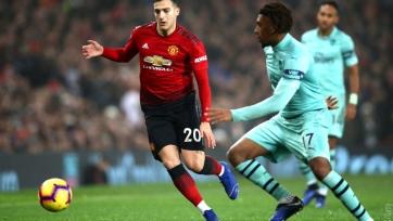«Манчестер Юнайтед» и «Арсенал» расписали боевую ничью