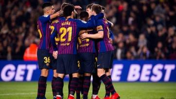 «Барселона» разгромно переиграла «Культураль Леонесу» в Кубке Испании