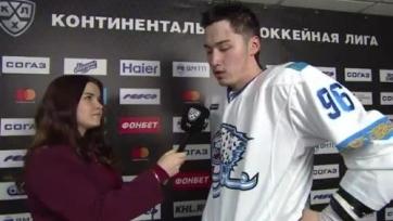 Асетов вернулся в «Барыс» после травмы