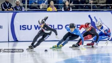 Шорт-трек. Ажгалиев - третий на этапе Кубка мира