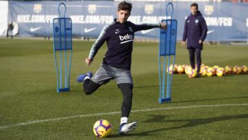 Полузащитник «Барселоны» приступил к индивидуальным тренировкам