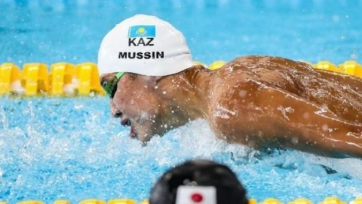 Пловец Мусин установил рекорд Казахстана на дистанции 100 м баттерфляем
