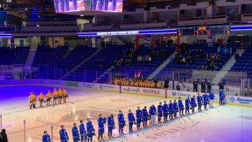 Молодежная сборная Казахстана по хоккею одержала еще одну победу