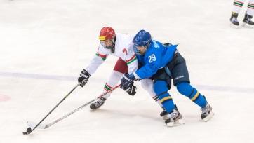 Юниорская сборная Казахстана разгромно проиграла Беларуси