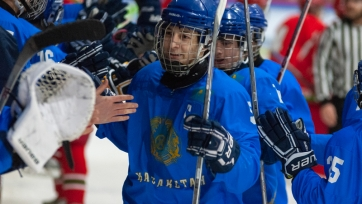 Юниорская сборная Казахстана разобралась с Австрией