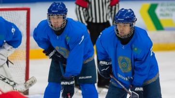 Сборная Казахстана U-18 уверенно обыграла Латвию