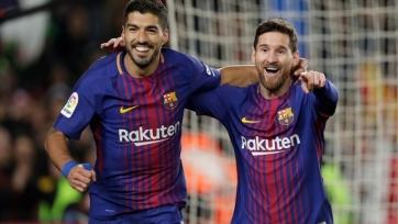 Месси и Суарес в текущем сезоне Примеры на двоих забили и сделали ассистов больше, чем весь «Реал»