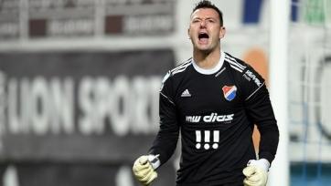 36-летний Лаштувка больше половины матчей в сезоне отыграл на ноль