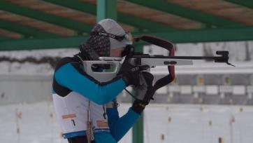 Биатлон. Казахстанские юниоры заняли 13-е место в смешанной эстафете